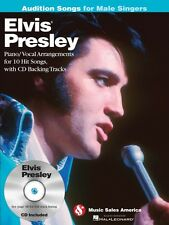 Elvis Presley Audition Songs for Male Singers Piano Vocal Arrangements 014037672