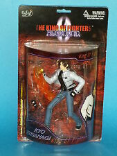 SNK King of Fighters 2000 Kyo Kusanagi Action Figure Blue Box Toys Mint on Card