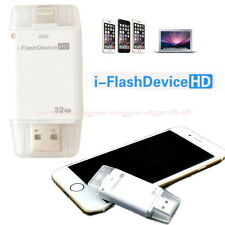 32GB USB i-Flash Drive U Disk Memory Stick for iPhone 5 5S 6 6 plus iPod Touch