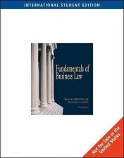 Fundamentals of Business Law with Online Research Guide by Roger Miller,...