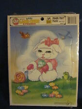 Shari Lewis Baby Lamb Chop & Friends Frame Tray Puzzle Sealed