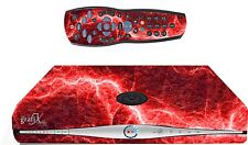 Red Electric Sticker/Skin SKY HD BOX & Remote controller/controll stickers sk35