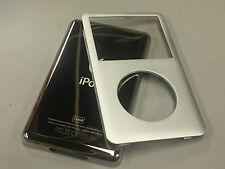 New iPod 6th 6.5 7th Gen Classic Silver Front Faceplate 128GB Back Cover Housing