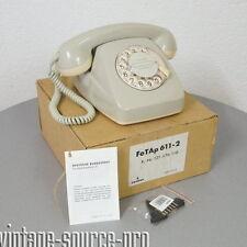 Nuevo siemens teléfono wählscheibentelefon fetap 611-2 gris brillante año 11.73