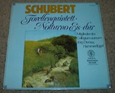 Schubert Forellenquintett Demus~NM Vinyl~German Import Classical~FAST SHIPPING!