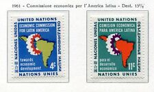 19042) UNITED NATIONS (New York) 1961 MNH** Nuovi** Latin America