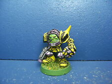 RAR! Alter Ork Boss in Megarüstung / eavy Armour der Space Orks BEMALT 1