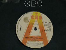 TOTO I`LL SUPPLY THE LOVE UK 1978 CBS PROMO 7 INCH