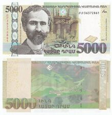 Armenia P-New 2012 5000 Dram (Gem UNC)