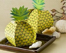 Set of 24 Pineapple Favor Box Wedding Party Favor Container Tropical Oversized