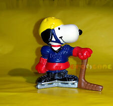 "Minifigure United Feature SNOOPY HOCKEY PLAYER - 6 cm. 2,3"" USED C2"