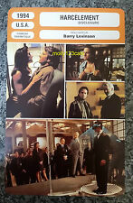 US Erotic Thriller Disclosure Michael Douglas Demi Moore French Film Trade Card