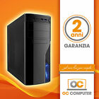 PC DESKTOP COMPUTER ASSEMBLATO INTEL QUAD CORE/RAM 4GB/HD 1TB/CARD READER