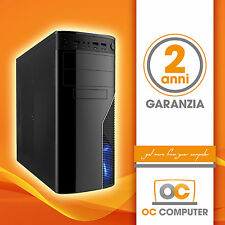 PC DESKTOP COMPUTER ASSEMBLATO AMD 6 SIX CORE FX 6300 X6/RAM 8GB/HD1000/CARD