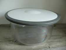 Rubbermaid NSF 5.9 Quart Storage Bowl & Lid Large Great for Lettuce & Greens