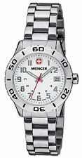 Wenger 0721.102 Grenadier White Dial Stainless Steel Women's Watch
