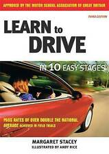 Learn to Drive in 10 Easy Stages,ACCEPTABLE Book