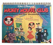 Mickey Mouse Club ‎– Mousekedances DISNEY Mouseketeer Album Cover Notebook WOWEE