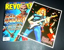 IRON MAIDEN~Revolver Magainze~EDDIE~December 2015~BRUCE DICKINSON~STEVE HARRIS