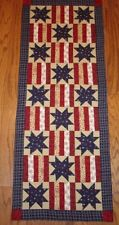 STARS & STRIPS FOREVER*TABLE RUNNER QUILT PATTERN~JUNE YEAR 1~INSTRUCTIONS ONLY