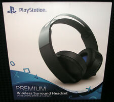 SONY PlayStation 4 Wireless 7.1 Virtual Surround 3D Platinum Headset JAPAN F/S