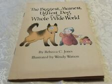 Retro Kids Book 1982 THE BIGGEST, MEANEST, UGLIEST DOG IN THE WHOLE WIDE WORLD