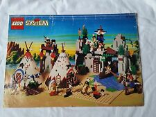 LEGO SYSTEM ACCAMPAMENTO INDIANO 6766 SOLO LIBRETTO ISTRUZIONI