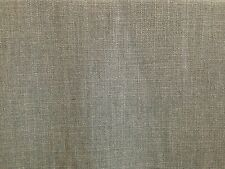 CLARKE & CLARKE HENLEY FLANNEL GREY LINEN COTTON PLAIN CURTAIN UPHOLSTERY FABRIC