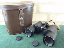 nice Vintage Axap Dublin  10x50 coated optics field binoculars VGC in case