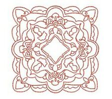 Red Quilting Blocchi - 20 MACCHINA EMBROIDERY Designs