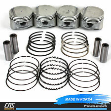 For 01-11 Hyundai Kia 2.0L Engine Piston w/ Ring Set OEM 23410-23710 23040-23200