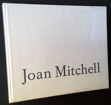JOAN MITCHELL: Paintings, 1989 RARE Exhibition Catalog Robert Miller Gallery NYC