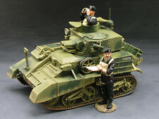King (and) & Country FOB019 - Vickers Mk. VI Light Tank - Retired