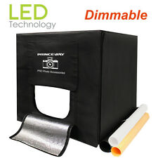 Pro Dimmable LED Photo Light Tent Photography Light Box LED Table Shooting Tent