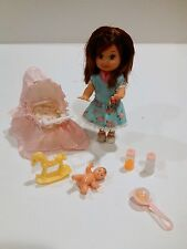 SAME SIZE KELLY DOLL WITH BABY DOLL STROLLER & DOLL ACCESSORIES