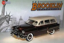 Brooklin BRK 132B, 1954 Chevrolet 210 Handyman Station Wagon, beige/brown, 1/43