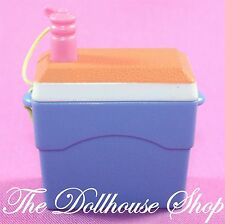 Fisher Price Loving Family Dollhouse Camping Drinks Cooler Ice Chest Picnic Food