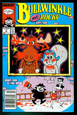 BULLWINKLE and ROCKY # 5- 1988  (fn+)