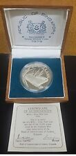 1976 SINGAPORE SHIP $10 SILVER PROOF COIN WITH BOX & COA