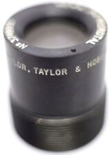 Rare Taylor & Hobson Microtal 40mm F4.0 C Screw Prime Lens Made In England Cooke