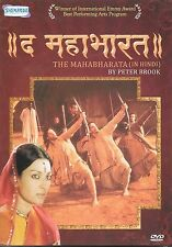 IL MAHABHARATA (IN HINDI) BY PETER BROOK - NUOVO BOLLYWOOD DVD