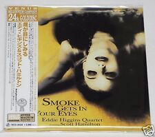 EDDIE HIGGINS / Smoke Gets In Your Eyes JAPAN CD Mini LP w/OBI 24k GOLD DISC