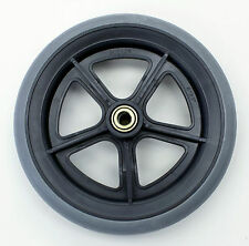 """Wheelchair Replacement Parts 8""""  Wheel Caster 7/16"""" Grey Tire C81BG-716 1 pc New"""