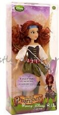 "Disney Store Pirate Fairy Zarina 10"" Toy Doll Flutter Wing Tinker Bell Movie New"
