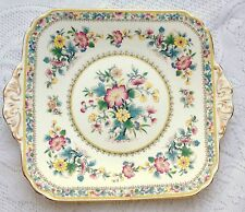Foley MING ROSE two handled Cake Plate (207)