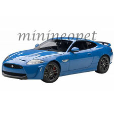 AUTOart 73641 JAGUAR XKR-S FRENCH 1/18 MODEL CAR RACING BLUE