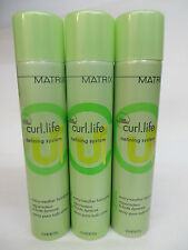 3 PCS! MATRIX CURL LIFE EVERY WEATHER HAIRSPRAY 10 OZ EA