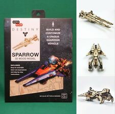 Destiny Sparrow 3D Wood Model Kit Puzzle SEALED Bungie Officially Licensed