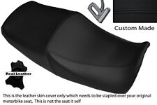 BLACK STITCH CUSTOM FITS YAMAHA XJR 1200 95-99 1300 98-01 DUAL SEAT COVER