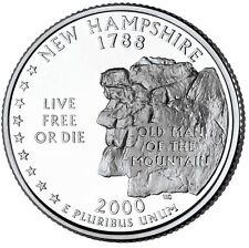 2000D New Hampshire Quarter BU